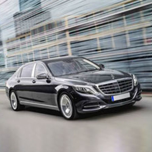Luxury cars Mercedes-Benz S Class rental with chauffeur NCC Umbria - Baroni Autonoleggi Assisi Italy