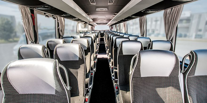 Luxury coach hire with driver NCC Umbria - Baroni Autonoleggi Assisi Italy