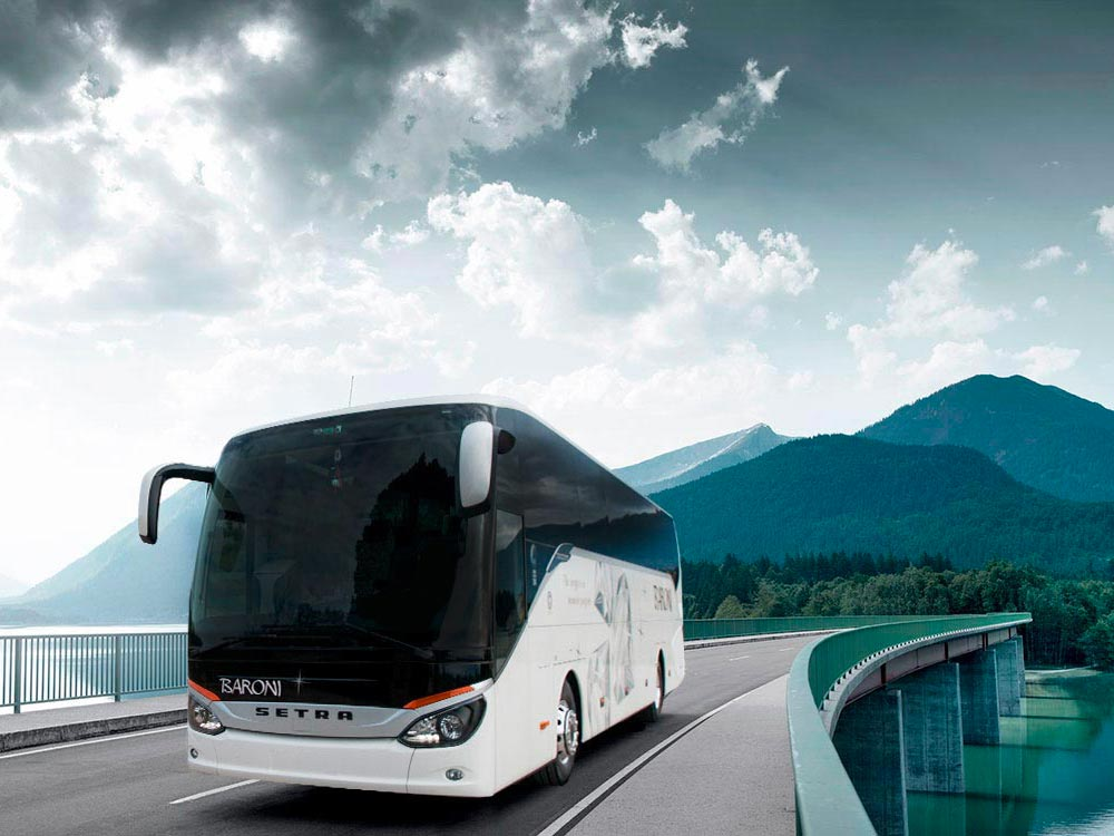 Coaches GT hire with private driver NCC Italy - Umbria Baroni Autonoleggi Assisi, Perugia, Italy